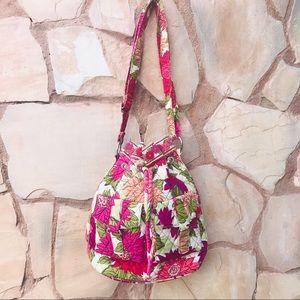Vera Bradley Hello Dahlia Crossbody Shoulder Bag